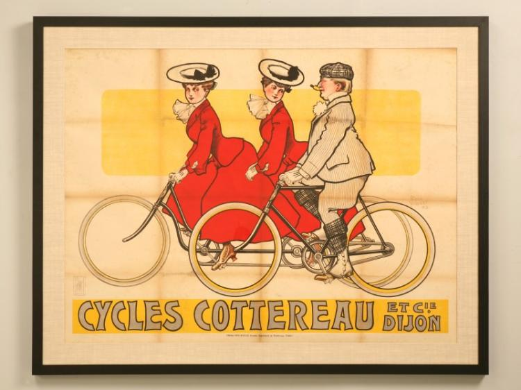 Bicycle Poster from France by Rene Vincent