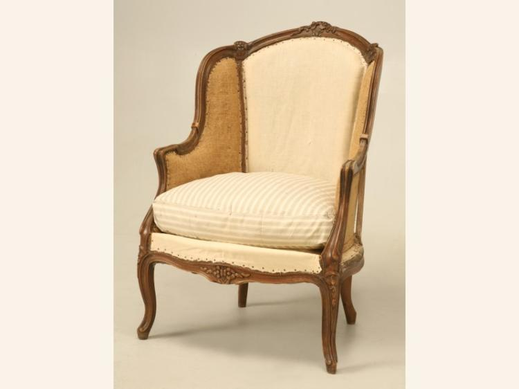 Antique French Louis XV Style Chair, c.1880s
