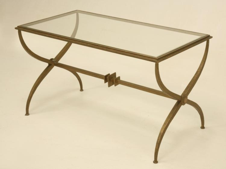 c.1940s French Mid-Century Modern Coffee Table