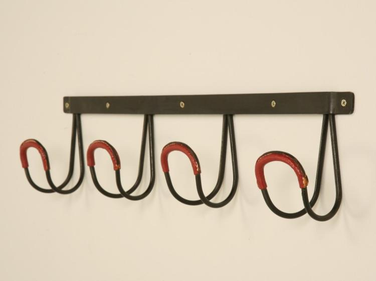 Jacques Adnet Leather Coat Rack
