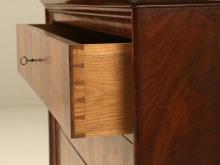 Antique French Commode in Mahogany
