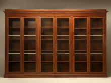 Antique French Bookcase or Display Cabinet