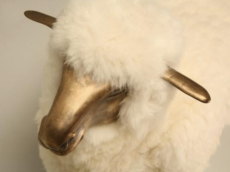 Claude Lalanne Solid Bronze Sheep (Style of)