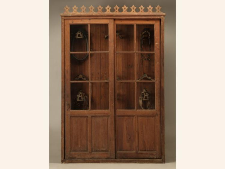 French Tack Cabinet