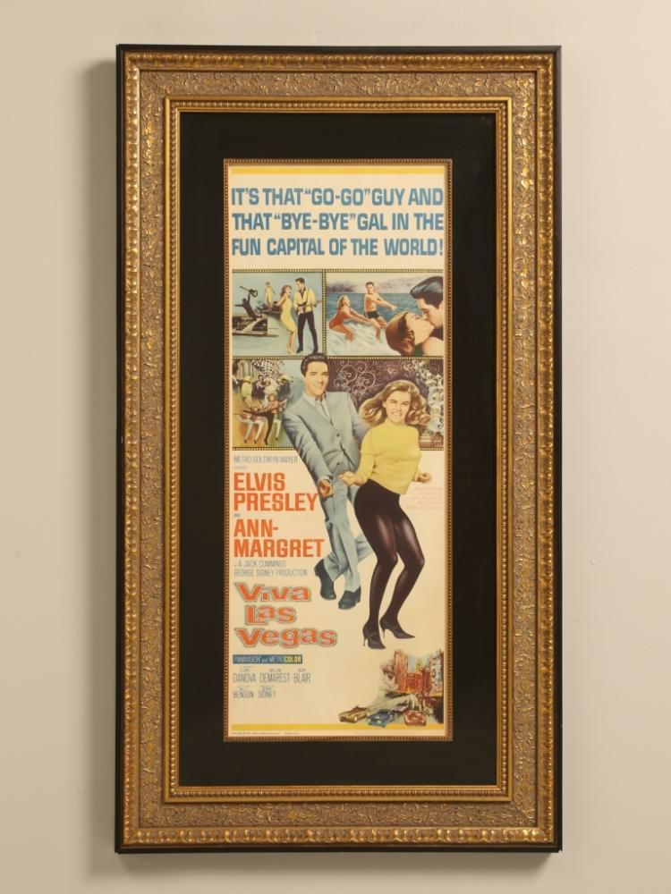 Viva Las Vegas Movie Poster Elvis Presley Ann-Margret RARE ORIGINAL!