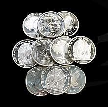 10-One Troy oz. Silver Rounds
