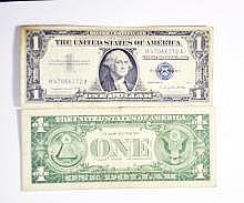 3- 1.00 Silver Certificates