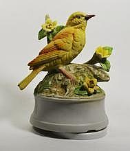 Yellow Finch Music Box