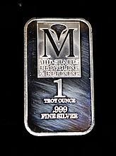 .999 Silver Bar