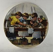 Jeanne Down's Collector Plate