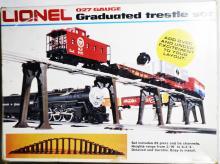 Lionel 6-2110 Graduated Tresel Set 027Gauge