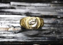 !4k Ring With Horse Head