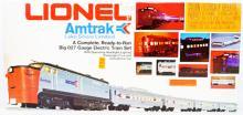 Lionel  1663 Amtrak Lake Shore Limited diesel passenger set.