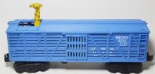 LIONL #3376 BRONX ZOO GIRAFFE CAR ONLY (GREEN)RARE