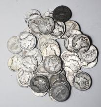 40 Mercury Dimes