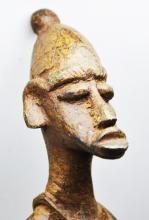 Dogon Lost Wax Metal Sculpture-African Art