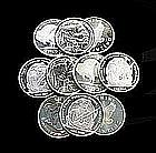 10-One Troy oz.Silver Rounds