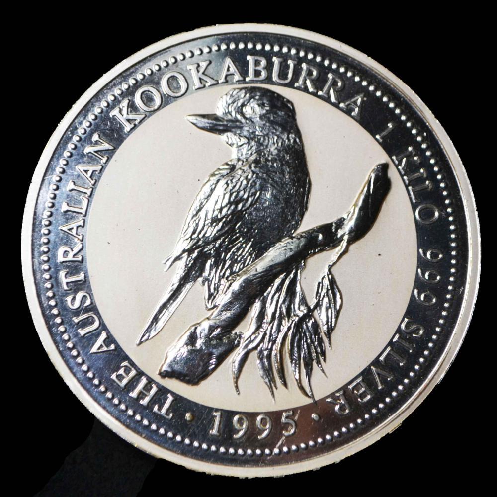 1-Kilo Kookaburra .999 Silver