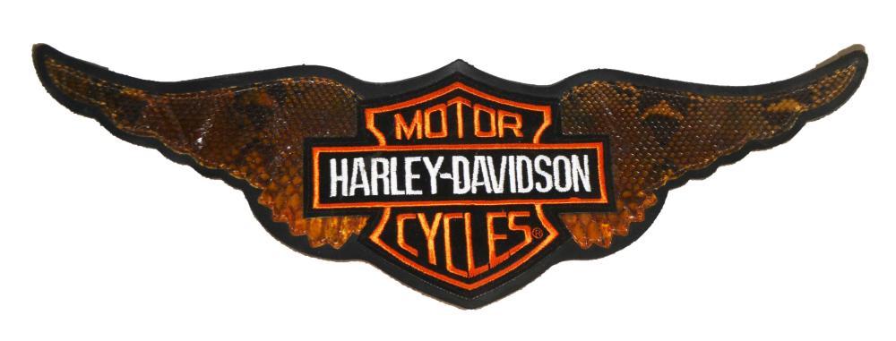 Python Skin Harley Patch