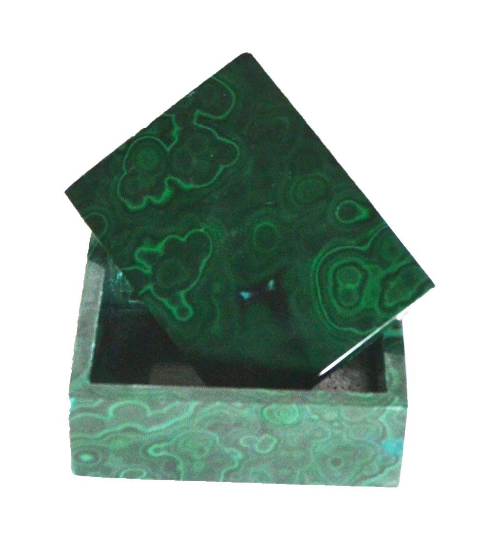 Malachite Jewelry / Trinket Box