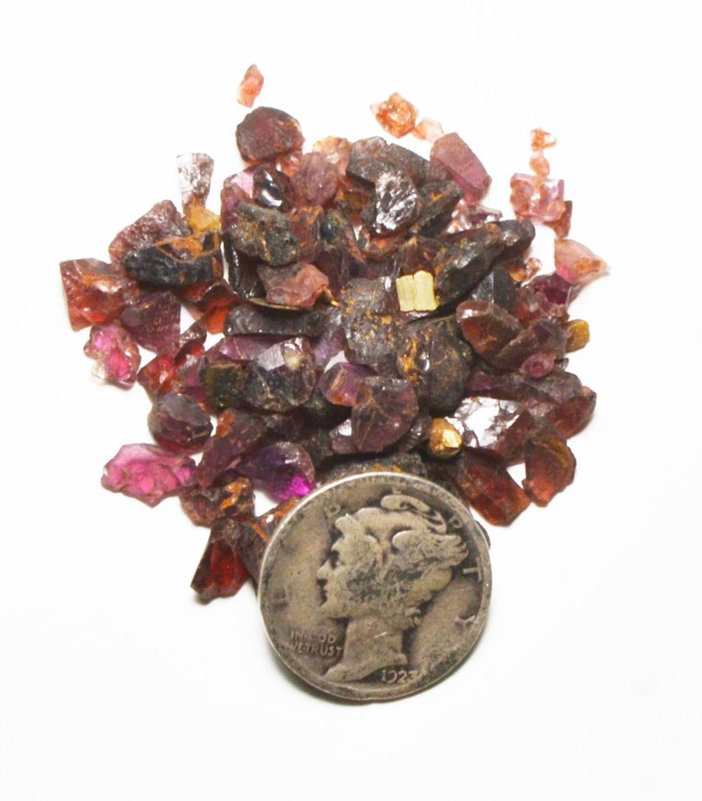 10g. Almandine Garnet-Natural Crystal