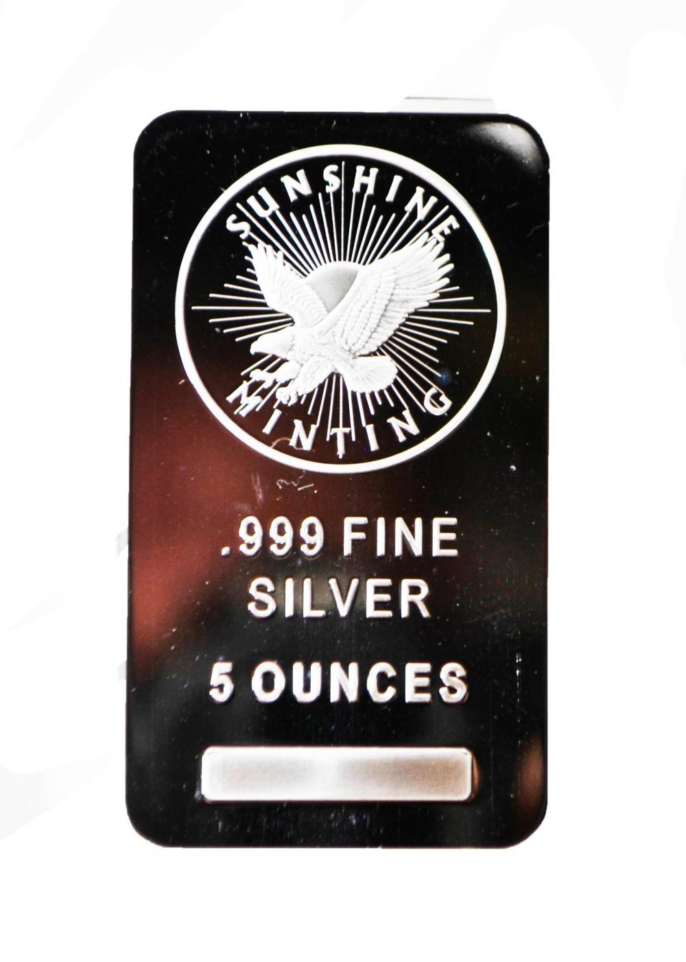 5oz. Silver Bar