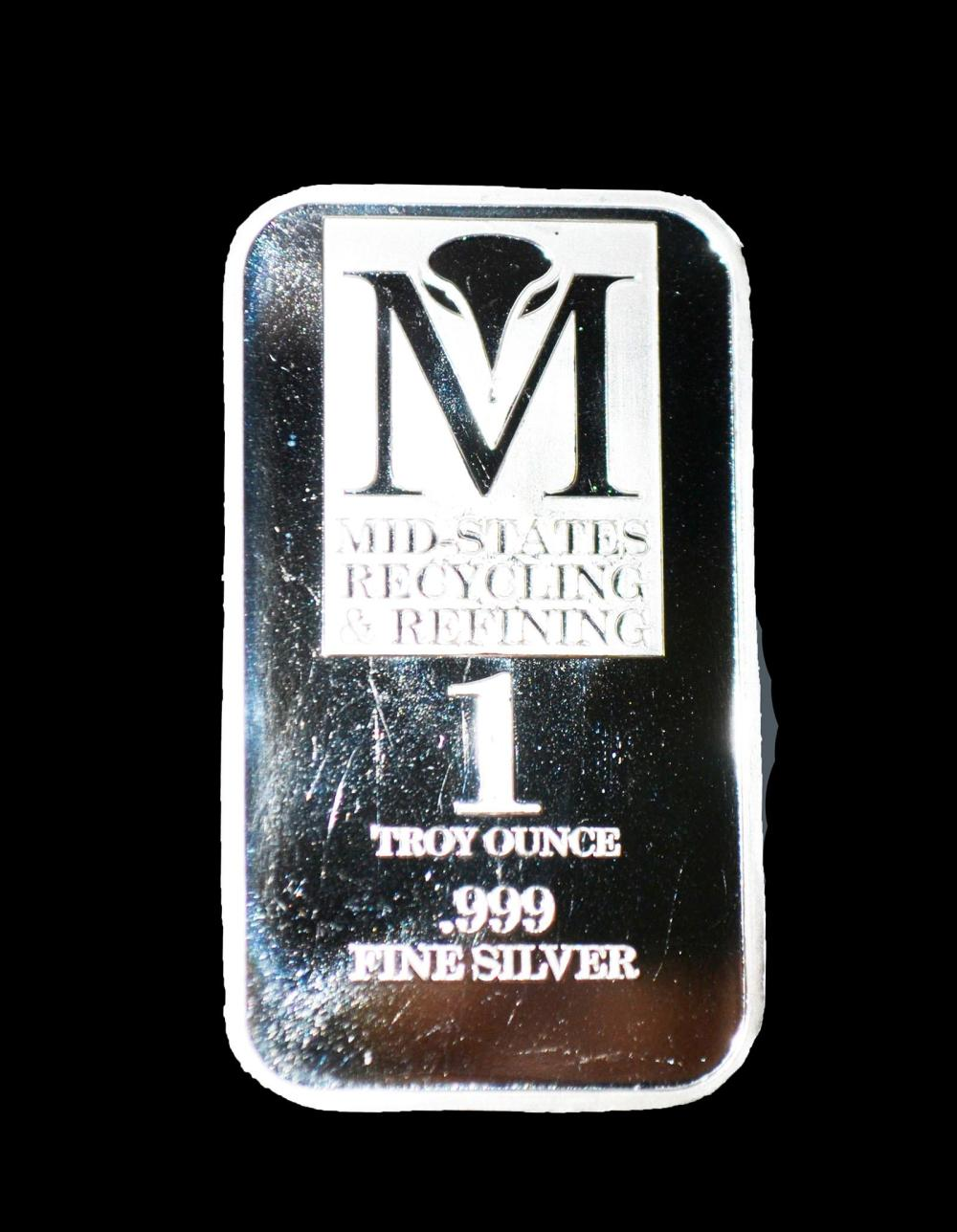 1oz. Silver Bar .999Fine