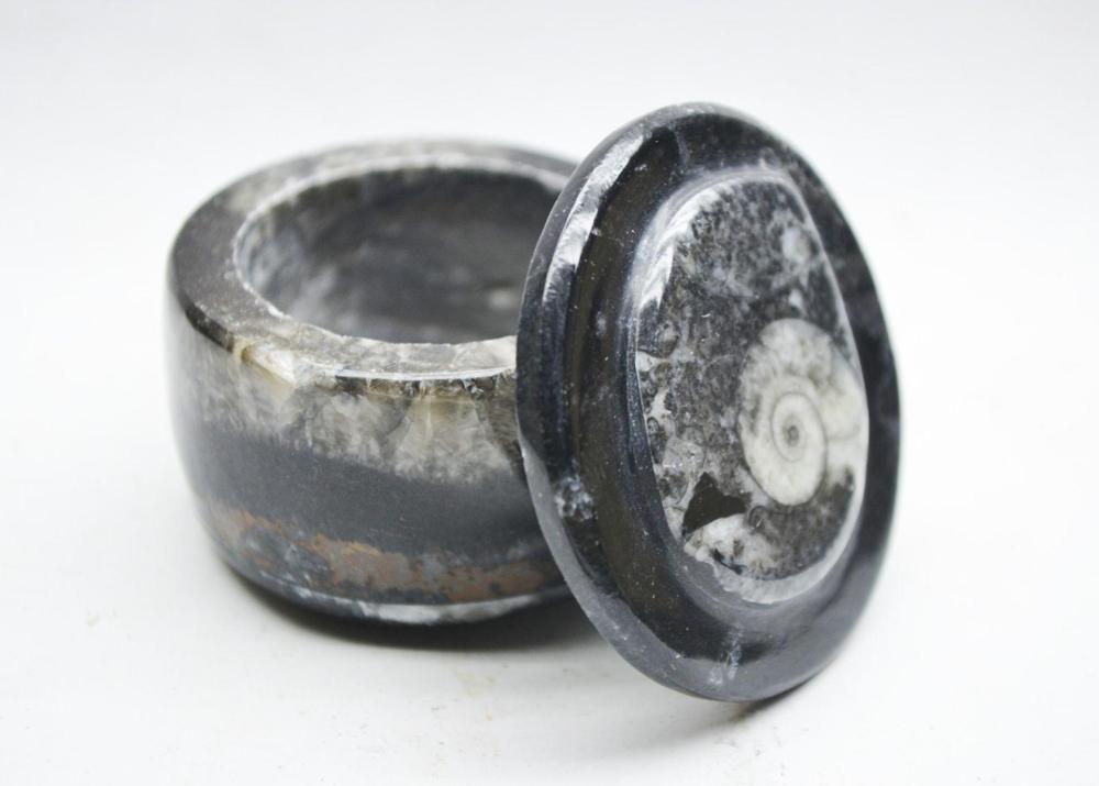 Small Fossiliferous Jar