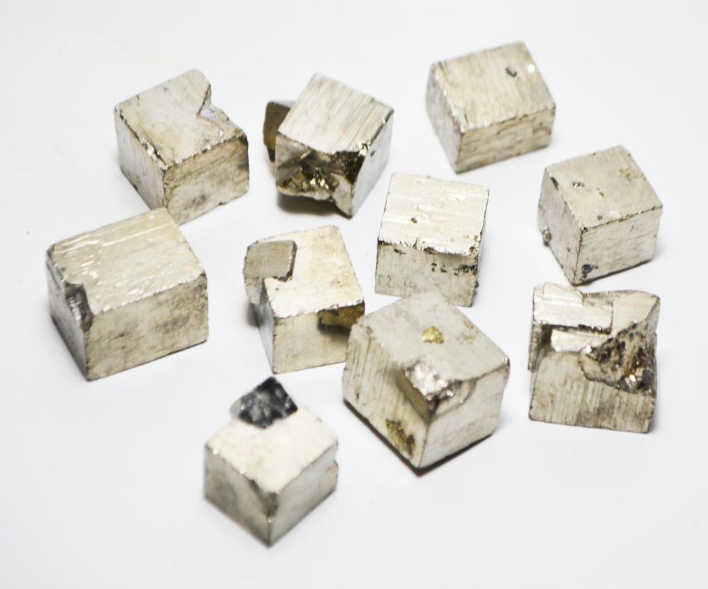 1-Iron Pyrite Cubic Crystal