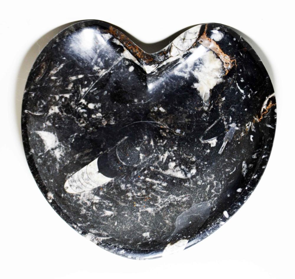 Heart Shaped Marbe Bowl