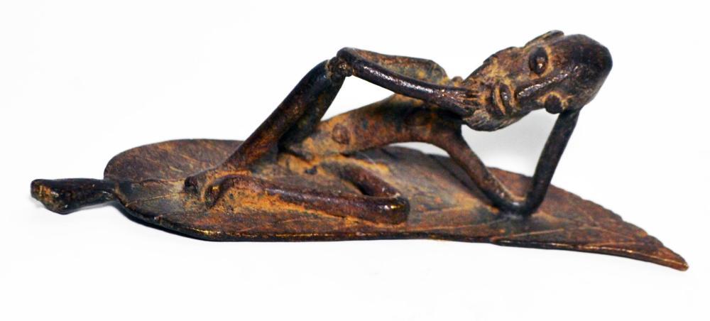 Dogon Lost Wax Metal Sculpture-Ethnographic African Art
