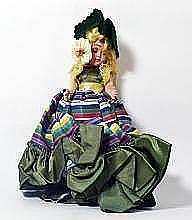 Vintage European Collector Doll