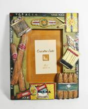 Resin Cigar Theme Picture Frame
