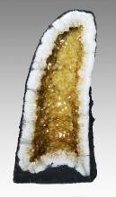 Citrine Cathedral Geode