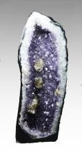 Unusual  Amethyist Cathedral Geode with Inclusions