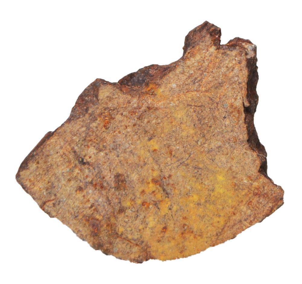 Chondrite Meteorite Cross Section-H Class