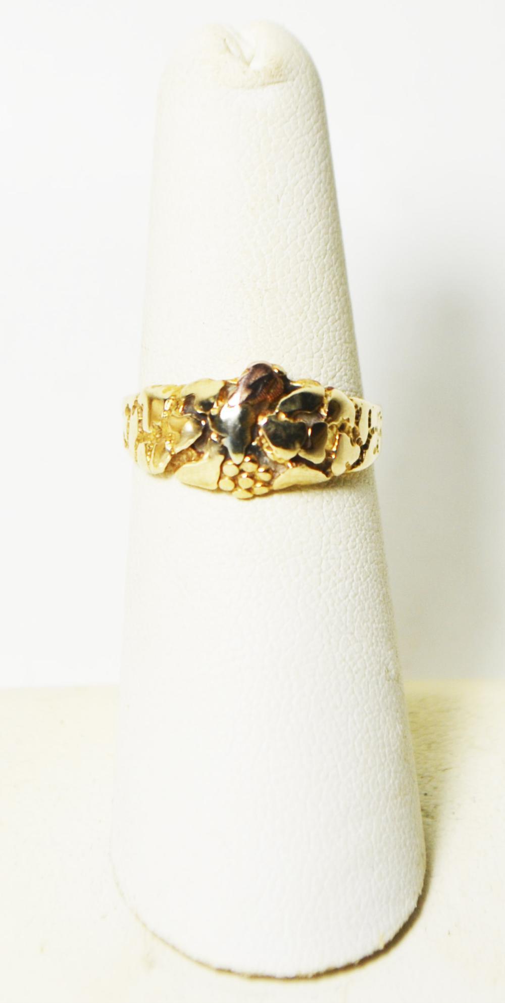 10k Ring Size 6