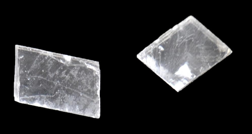 2-Iceland Spar/Viking Sunstone Crystals-Calcite