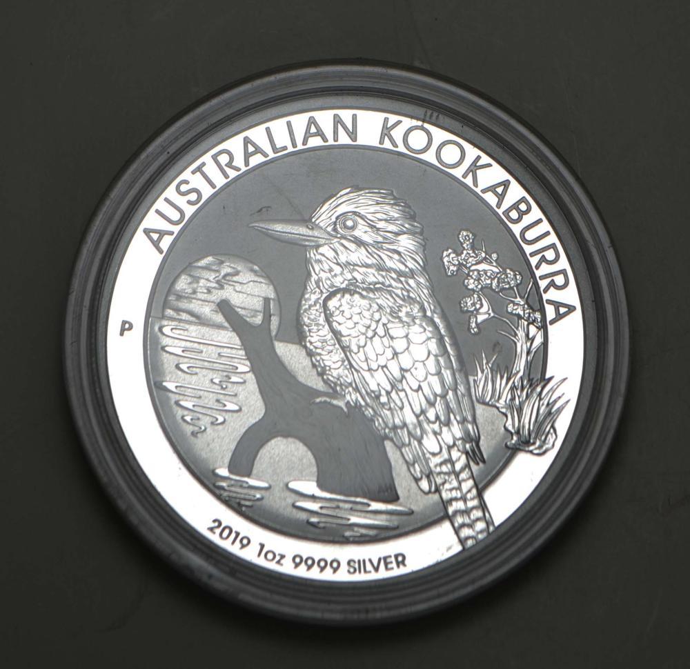 1oz. Australian Kookaberra .999