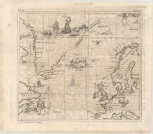 (Map - North Atlantic) [Untitled - Map of the North Atlantic]