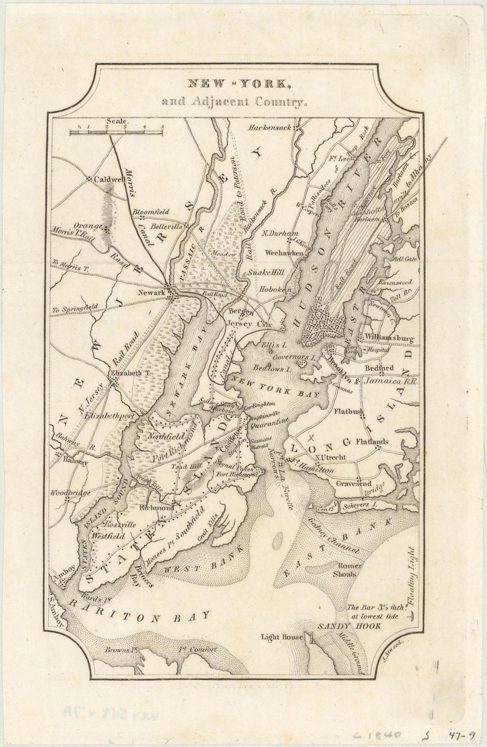 Maps - Eastern United States Cities) [Lot of 7] New-York, and ...