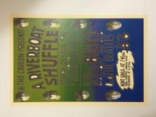 1961 The BEATLES Riverboat Shuffle Concert Poster