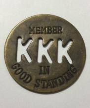 KKK Ku Klux Klan Member in Good Standing Token