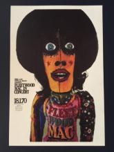 FLEETWOOD MAC Live in Germany Concert Poster