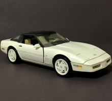FRANKLIN MINT 1988 Corvette Precision Die-Cast Car