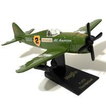 Vintage WW2 Die-Cast Military Fighter Airplane