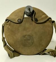 Very Early Boy Scouts of America Canteen w/Holder