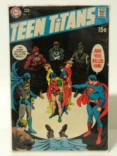 Original Superman - Teen Titans DC Comic Book