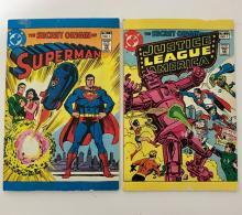 Lot of 2 VTG Original 1st Ed Mini DC Comic Books