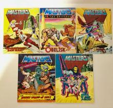 Lot of 5 Original 1st Issue 1982 Mini Comic Books